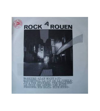 Various - Rock A Rouen (LP, Album) mesvinyles.fr