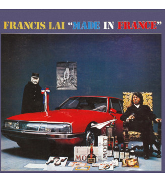Francis Lai - Made In France (LP, Album, Col) Disquaire Day (RSD) mesvinyles.fr