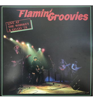 Flamin' Groovies* - Live At The Whiskey A Go-Go '79 (LP, Album, Num, Red) Disquaire Day (RSD) mesvinyles.fr