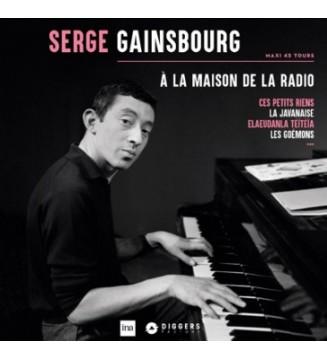 """Serge Gainsbourg - A La Maison De La Radio (12"""", Maxi, Ltd, Num) mesvinyles.fr"""