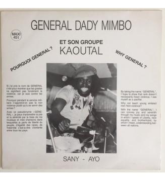 "General Dady Mimbo* Et Son Groupe Kaoutal - Pourquoi Général? Why General? (12"", Maxi) mesvinyles.fr"