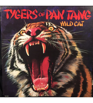 Tygers Of Pan Tang - Wild Cat (LP, Album) mesvinyles.fr