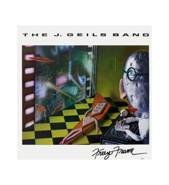The J. Geils Band - Freeze Frame (LP, Album)