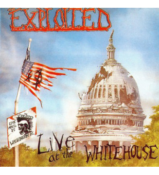 The Exploited - Live At The Whitehouse (LP, Album) mesvinyles.fr
