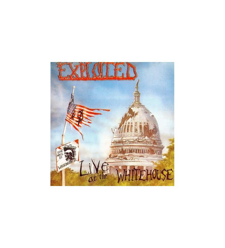 The Exploited - Live At The Whitehouse (LP, Album) mesvinyles.fr
