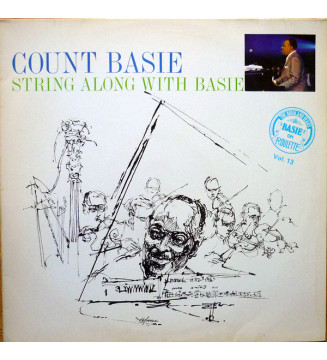 Count Basie - String Along With Basie (LP, Album, RE) mesvinyles.fr