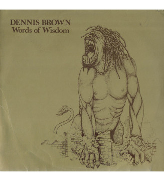 Dennis Brown - Words Of Wisdom (LP, Album) mesvinyles.fr
