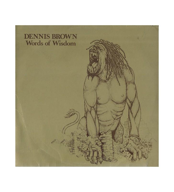 Dennis Brown - Words Of Wisdom (LP, Album) mesvinyles.fr