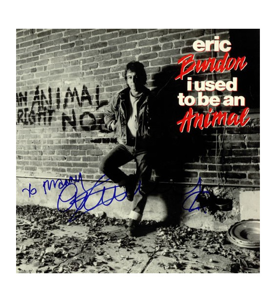 Eric Burdon - I Used To Be An Animal (LP, Album) mesvinyles.fr