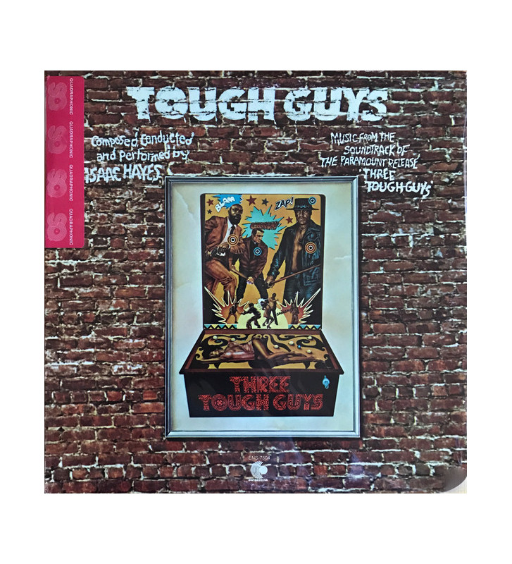Isaac Hayes - Tough Guys (LP, Album, Quad, Gat) mesvinyles.fr