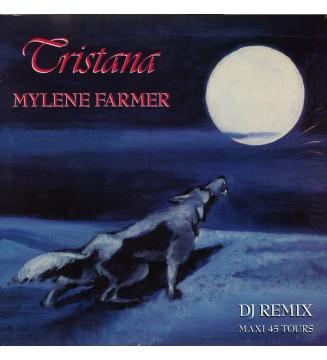 "Mylene Farmer* - Tristana (DJ Remix) (12"", Maxi, RE) mesvinyles.fr"