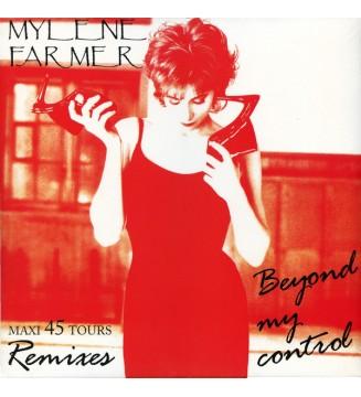 "Mylene Farmer* - Beyond My Control (12"", Maxi, Ltd, RE) mesvinyles.fr"