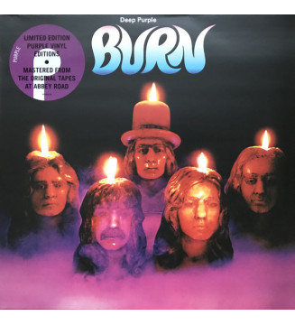 Deep Purple - Burn (LP, Album, Ltd, RE, RM, Pur) mesvinyles.fr