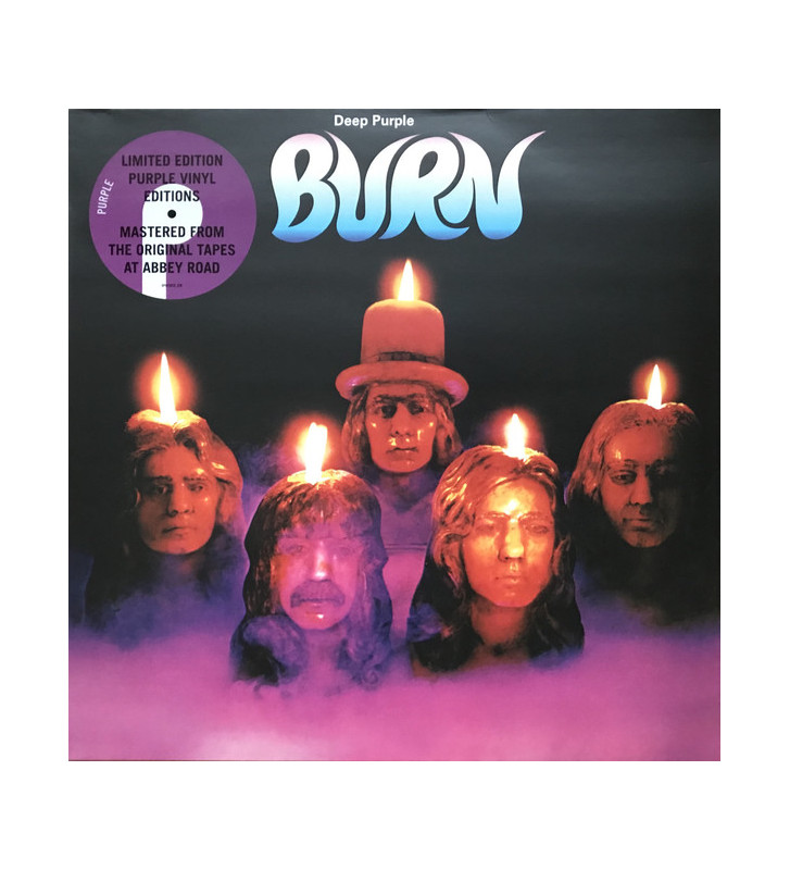 Deep Purple - Burn (LP, Album, Ltd, RE, RM, Pur) mesvinyles.fr
