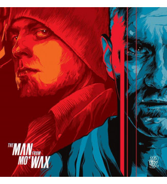 Various - The Man From Mo'Wax (Music From The Motion Picture) (LP, Red + LP, Blu + Comp, Ltd) mesvinyles.fr