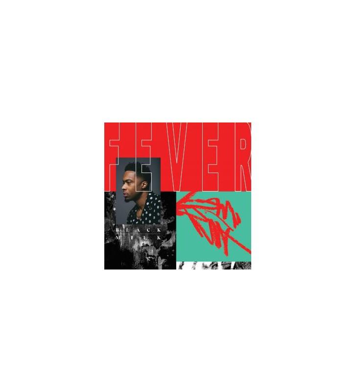 """Black Milk - Fever (2x12"""", Album, Red) mesvinyles.fr"""