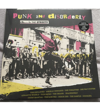Various - Punk And Disorderly - Further Charges (LP, Comp) mesvinyles.fr