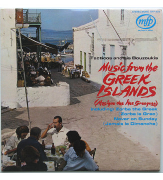 Tacticos And His Bouzoukis - Music From The Greek Islands (Musique Des Îles Grecques) (LP, Album) mesvinyles.fr