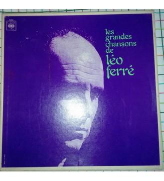 Léo Ferré - Les Grandes Chansons de Léo Ferré (3xLP, Comp) mesvinyles.fr