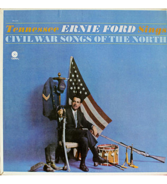 Tennessee Ernie Ford - Tennessee Ernie Ford Sings Civil War Songs Of The North (LP, Album, RE) mesvinyles.fr