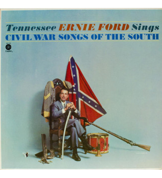 Tennessee Ernie Ford - Tennessee Ernie Ford Sings Civil War Songs Of The South (LP, Album, RE) mesvinyles.fr