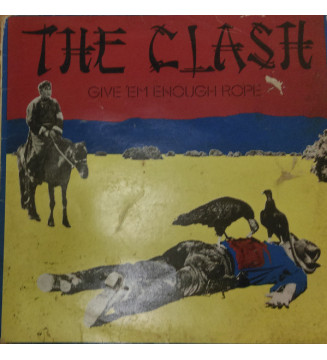 The Clash - Give 'Em Enough Rope (LP, Album) mesvinyles.fr
