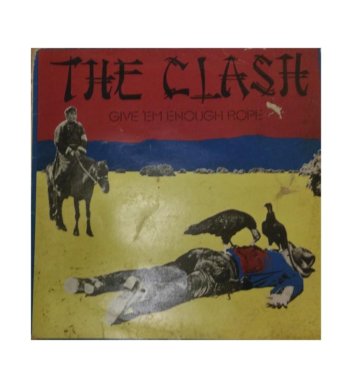 The Clash - Give 'Em Enough Rope (LP, Album) mesvinyles.fr
