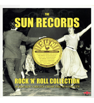 Various - The Sun Records Rock 'N' Roll Collection (2xLP, Comp, 180) mesvinyles.fr