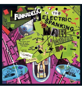 Funkadelic - The Electric Spanking Of War Babies (LP, Album, RE) mesvinyles.fr