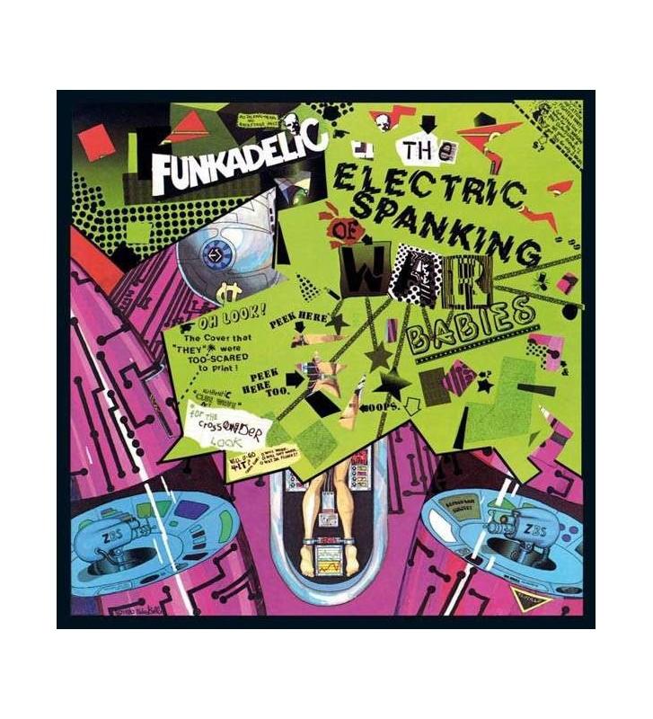 Funkadelic - The Electric Spanking Of War Babies (LP, Album, RE) mesvinyles.fr
