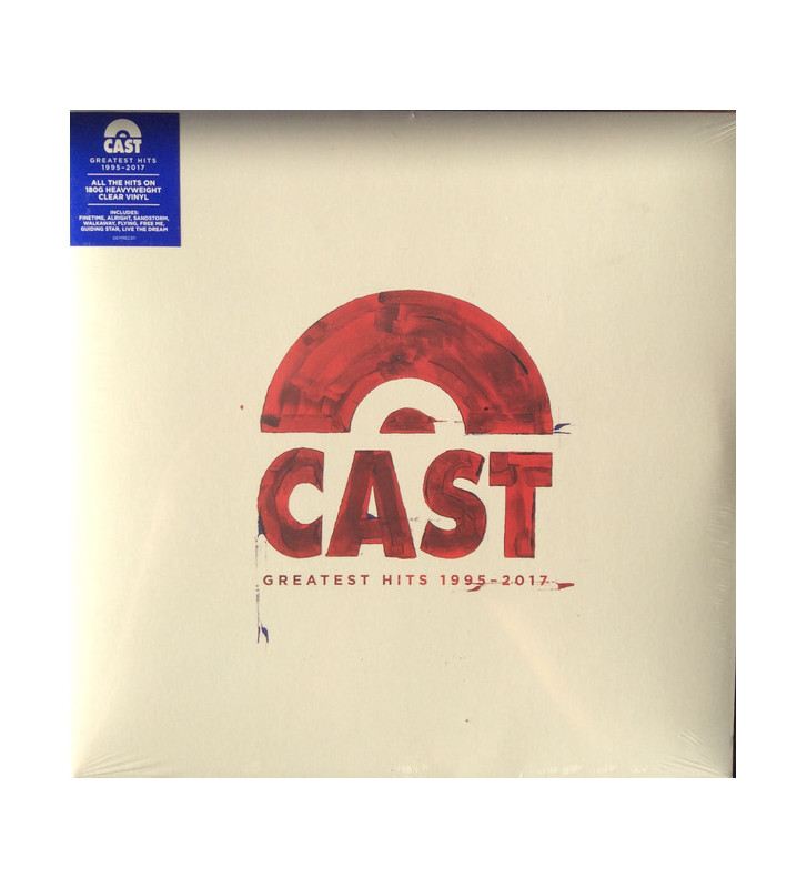 Cast - Greatest Hits 1995 - 2017 (LP, Album, Comp, Cle) mesvinyles.fr