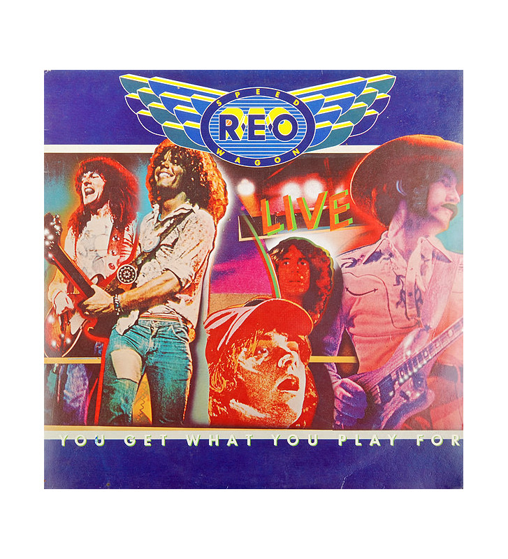 REO Speedwagon - You Get What You Play For (2xLP, Album, Gat) mesvinyles.fr