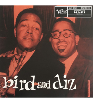 Charlie Parker / Dizzy Gillespie - Bird And Diz (LP, Album, RE) mesvinyles.fr