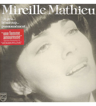 Mireille Mathieu - Un Peu... Beaucoup... Passionnément... (LP, Album, Gat) mesvinyles.fr