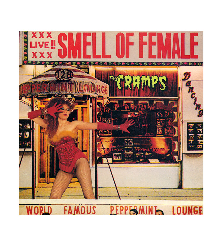 "The Cramps - Smell Of Female (12"", MiniAlbum) mesvinyles.fr"