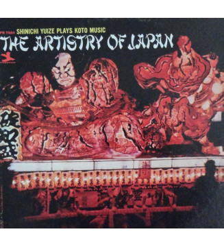Shinichi Yuize - The Artistry Of Japan (LP) mesvinyles.fr