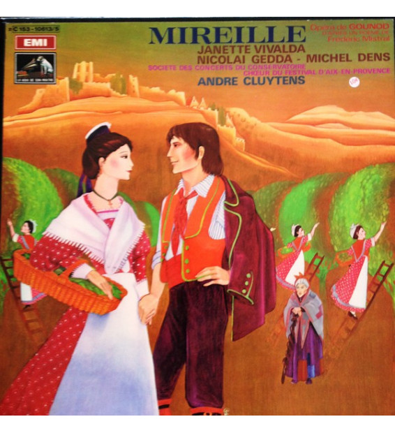 Mireille - Charles Gounod - Janette Vivalda, Nicolai Gedda, Michel Dens, Christiane Gayraud, Andre Cluytens