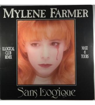 "Mylene Farmer* - Sans Logique (12"", Maxi) mesvinyles.fr"