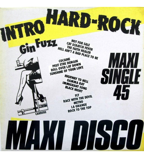 "Gin Fuzz - Intro Hard-Rock (12"", Maxi, P/Mixed)"