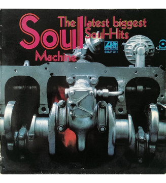 Various - Soul Machine The Latest Biggest Soul-Hits (LP, Comp) mesvinyles.fr