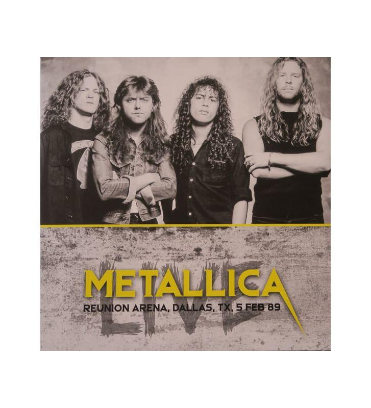Metallica - Reunion Arena, Dallas, Tx, 5 Feb 89 (LP, Album, Unofficial) mesvinyles.fr