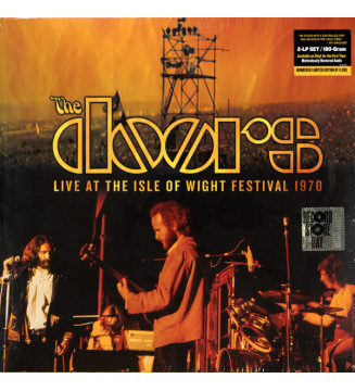 The Doors - Live At The Isle Of Wight Festival 1970 (2xLP, Album, Ltd, Num, RE, 180) Disquaire Day (RSD) mesvinyles.fr
