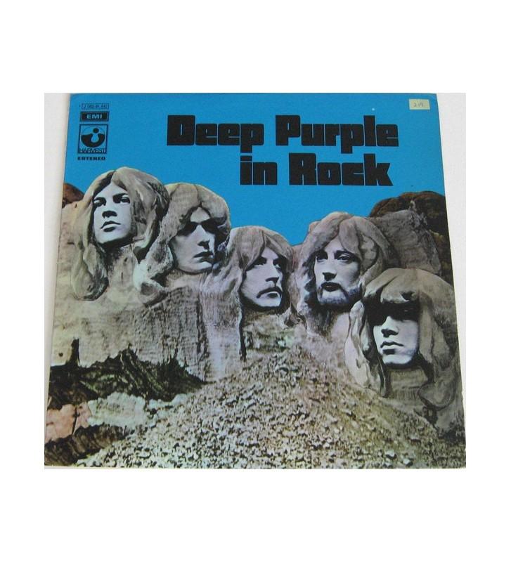 Deep Purple - In Rock (LP, Album, RE) mesvinyles.fr
