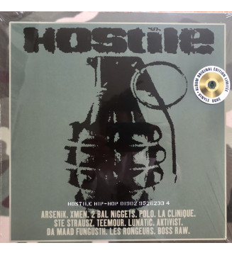 Various - Hostile Hip-Hop (LP, Comp, Ltd, RE, RM, Gol) mesvinyles.fr