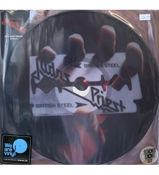 Judas Priest - British Steel (2xLP, S/Sided, Album, RE) Disquaire Day (RSD) mesvinyles.fr
