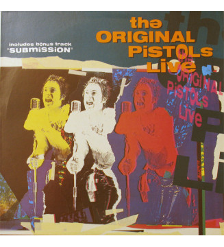 The Original Pistols* - The Original Pistols Live (LP, RE) mesvinyles.fr