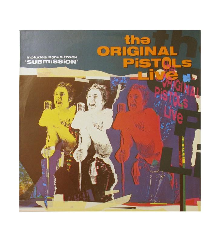 The Original Pistols* - The Original Pistols Live (LP, RE) mesvinyles.fr