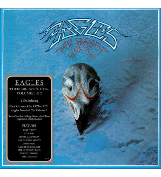 Eagles - Their Greatest Hits Volumes 1 & 2 (LP, Comp, RE + LP, Comp, RE + Box) mesvinyles.fr