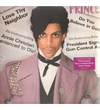 Prince - Controversy (LP, Album, RE, RM, 180) mesvinyles.fr