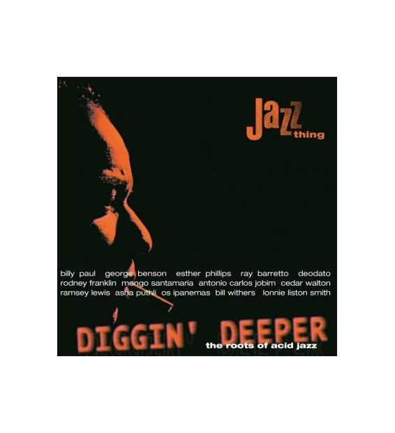 Various - Diggin' Deeper - The Roots Of Acid Jazz mesvinyles.fr